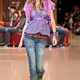 Gisele Bündchen on the Colcci Runway at Rio Fashion Week Fall/Winter 2005