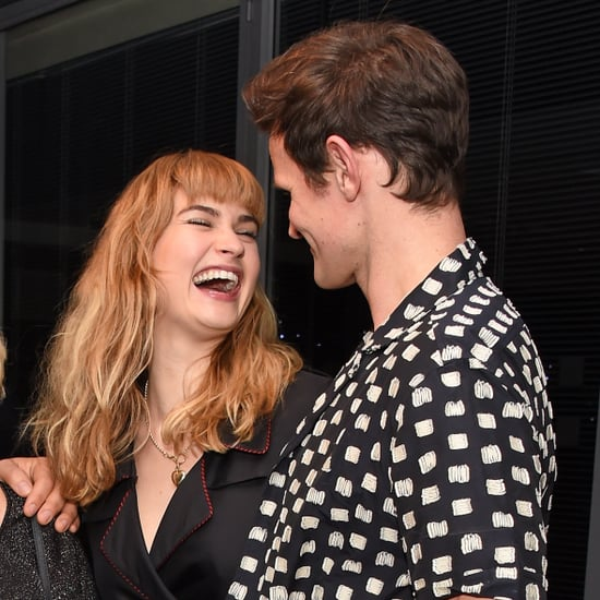 Photos of Matt Smith and Lily James Together