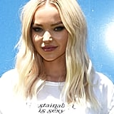 Dove Cameron With Platinum Hair