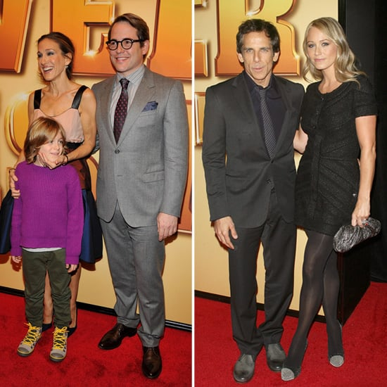 Matthew and Ben Get Support From Their Leading Ladies at Tower Heist's Premiere