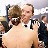Pictured: Benedict Cumberbatch and Sarah Paulson