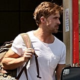 Ryan Gosling fit in some exercise.