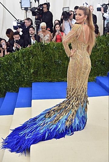 Blake Lively at the Met Gala Pictures
