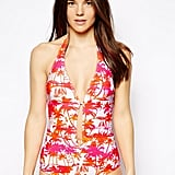 Shop the plunge: ASOS Deep Plunge Ruffle Swimsuit ($50, originally $72)