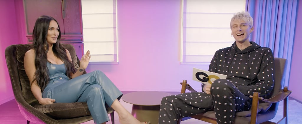 Watch Megan Fox and Machine Gun Kelly Ace a Couples Quiz