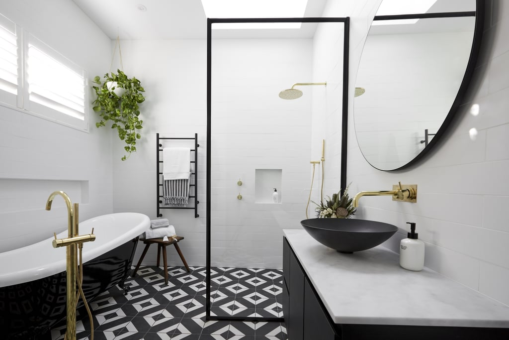 The block 2017 bathroom photos popsugar home australia for Bathrooms 2017