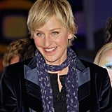 """""""I'm glad I make people happy, because that's very important. But I'm proud to be known as a kind person. You listen to any monologue on late-night TV or just in general, to people talking, and there's always a joke at someone's expense. It's sarcasm; it's nasty."""" — Ellen on being a kind comedian"""