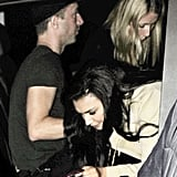 Gwyneth Paltrow and Chris Martin joined Kim Kardashian to party with Jay-Z and Kanye West in May 2012 in London.