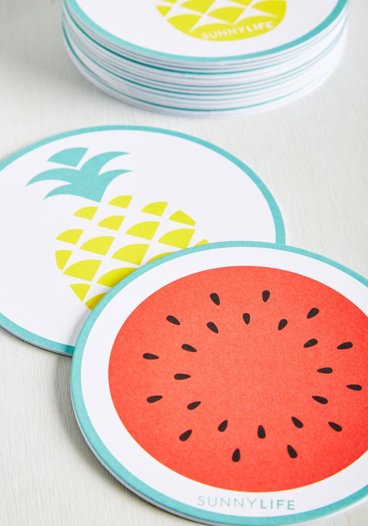 Piña Colada the Shots Coaster Set