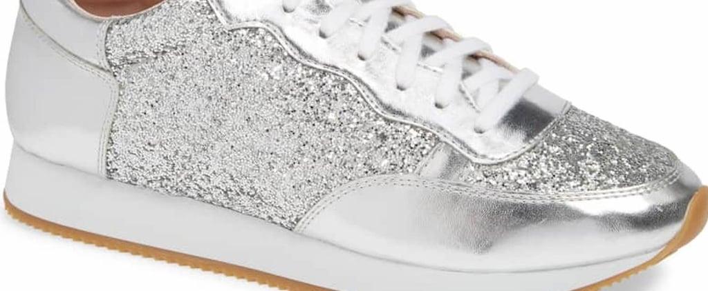 Kate Spade New York Glitter Sneakers