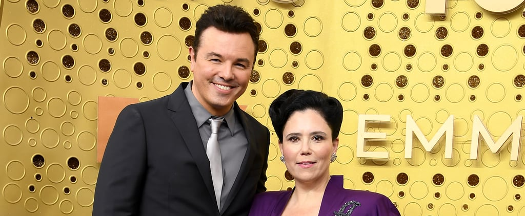 Alex Borstein and Seth MacFarlane at the 2019 Emmys