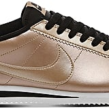 Nike Cortez OG metallic-leather trainers ($103)