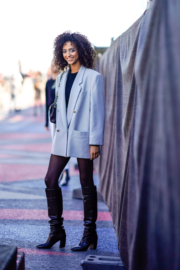 With a Blazer and Boots — Skirt Need Not Apply