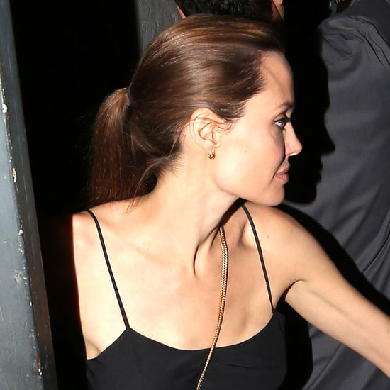 Angelina Jolie and Brad Pitt at the Troubadour
