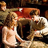 Ron and Hermione had a better connection.