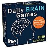 Daily Brain Games 2019 Daily Desk Calendar
