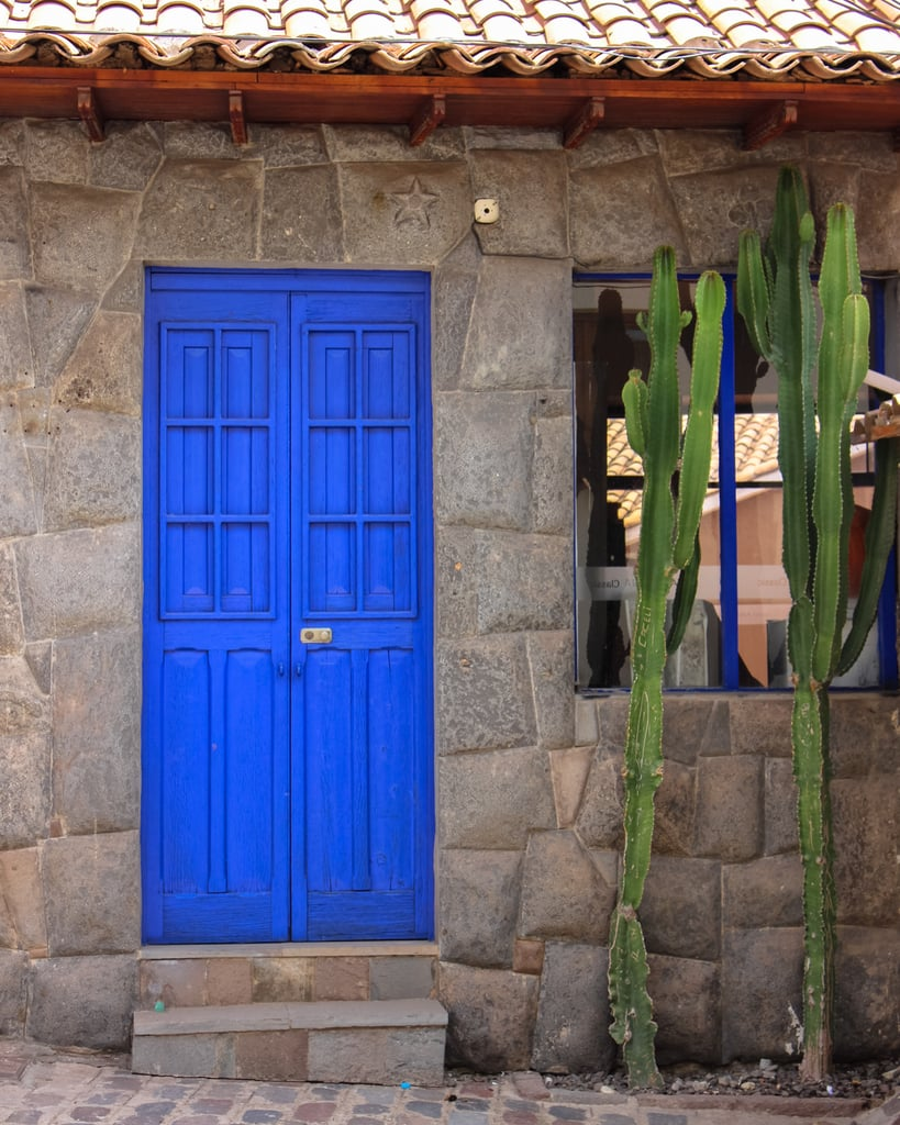 Marvel at the vibrant-colored doors peppered throughout the streets.