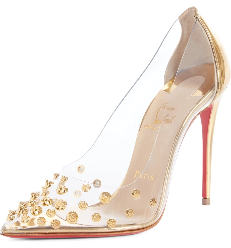 912681ae4a1 Christian Louboutin Collaclou Spike Pump | Kendall Jenner Clear ...