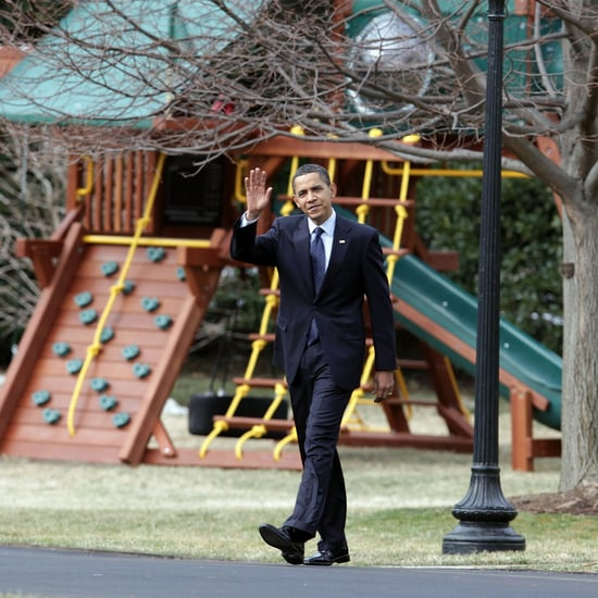 Obamas Donate the White House Swing Set to People in Need