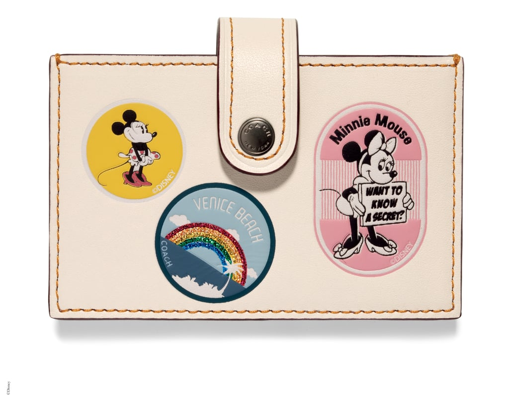 Accordion Card Case With Minnie Mouse
