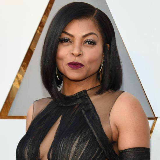 Taraji P. Henson and Ryan Seacrest at the Oscars 2018