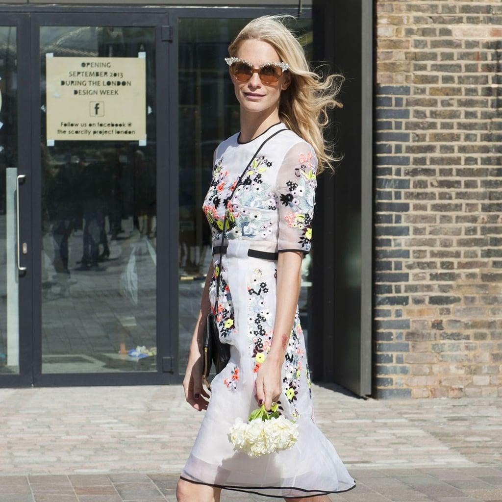 Best Street Style At London Fashion Week Spring 2014 Popsugar Fashion