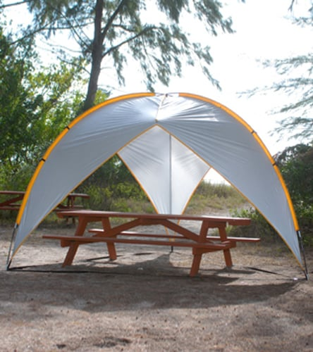 Maximize your shaded space with Abo Gear's Tripod Beach Shelter ($88, originally $100). Plus, it packs up into an easy carrying case.