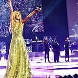 Celine Dion and Her Kids at Final Las Vegas Residency Show