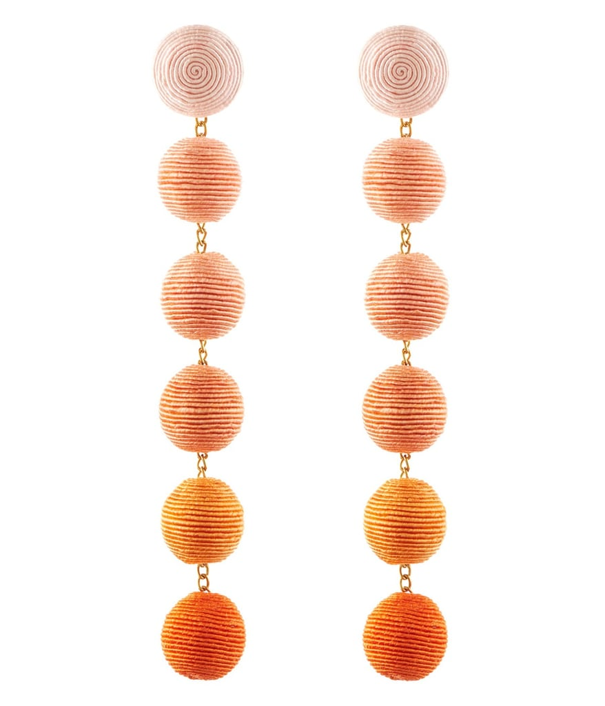 She'll want to style Rebecca de Ravenel's Six Drop Skinny Earrings in Chiquita, available at Ann Mashburn, ($345) with every dress she owns.