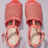 Ouigal Woven Raffia Sandals