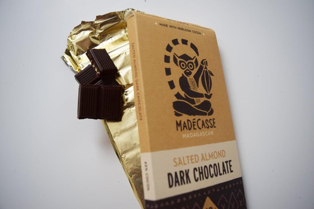 Madécasse Salted Almond Dark Chocolate