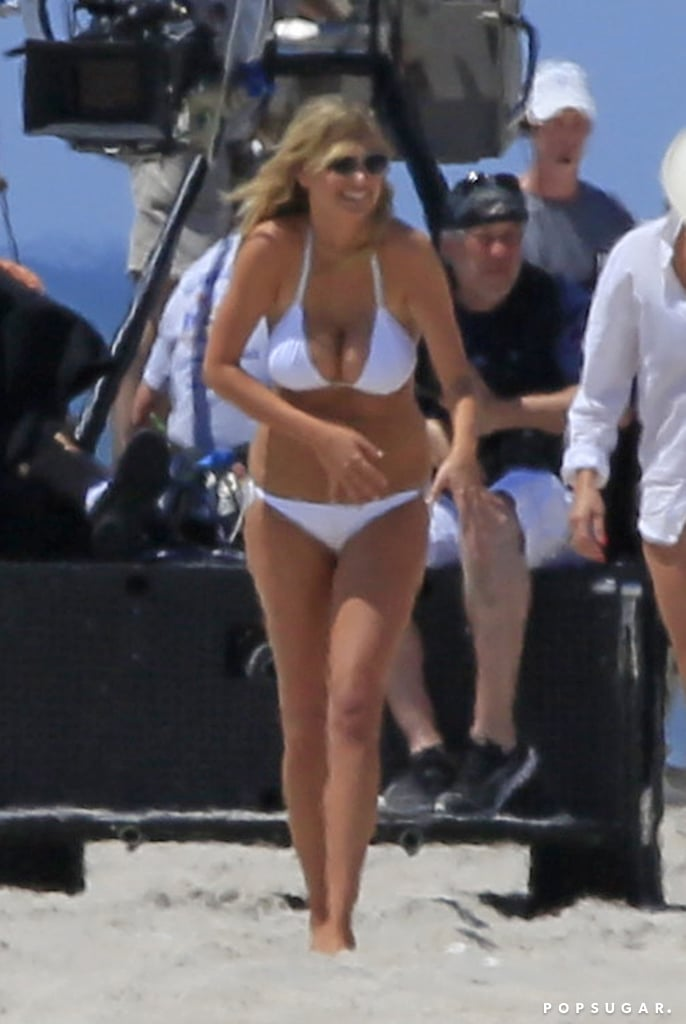 Kate Upton Busts Out Her Bikini While Cameron Diaz and Leslie Mann Keep It Covered