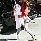In Love With . . . Katie Holmes's Isabel Marant Booties
