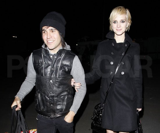 Slide Picture of Ashlee Simpson and Pete Wentz at a Party in LA