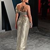 Scarlett Johansson's Dress at Vanity Fair Oscars Afterparty