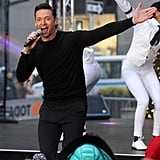 "Hugh Jackman ""The Greatest Show"" Today Show Performance"