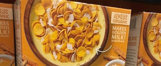 Costco Golden Turmeric Cereal