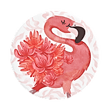 Flamingo a Go Go PopSocket