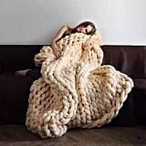 Nishiguang Chunky Knit Blanket