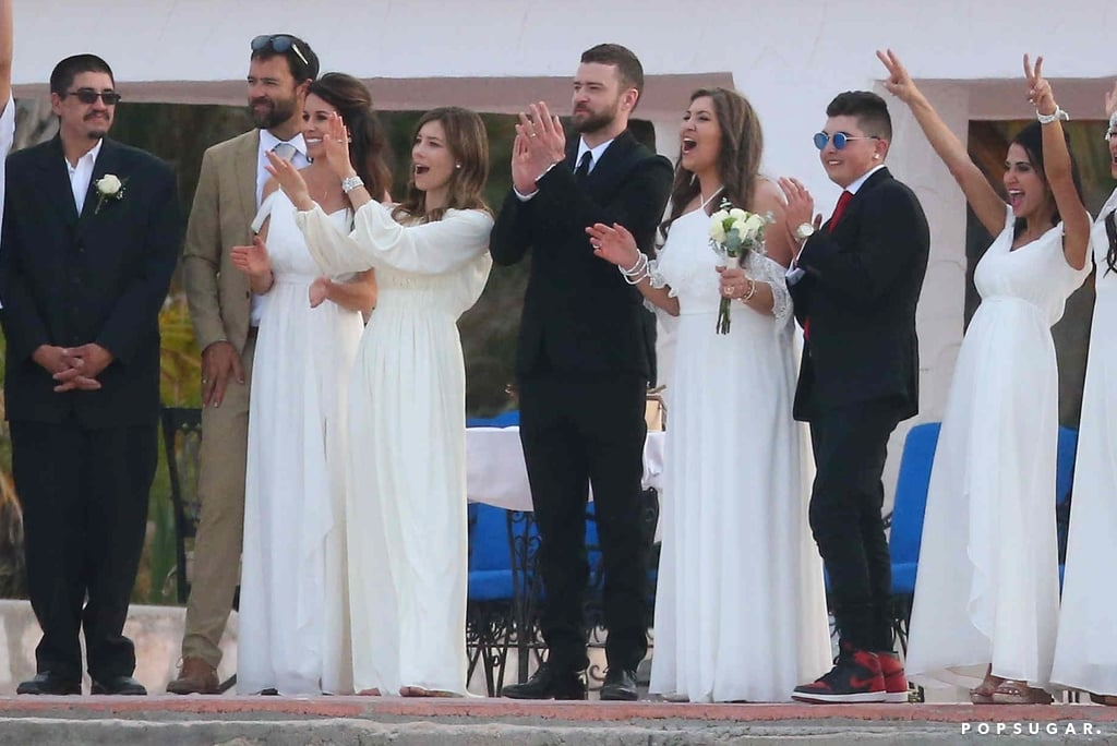 Justin timberlake wife wedding