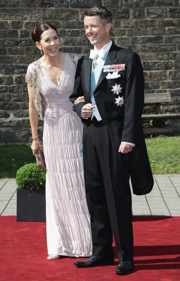 Pictures of Princess Mary of Denmark and Prince Frederick at the Wedding of Princess Nathalie zu Sayn-Wittgenstein-Berleburg