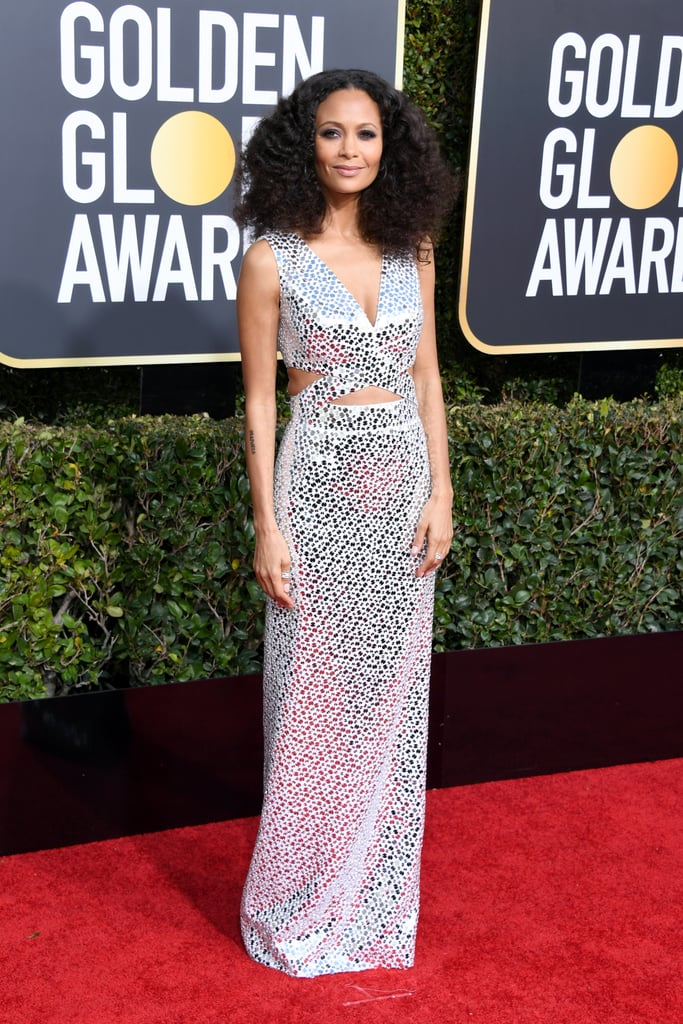 Thandie Newton at the 2019 Golden Globes
