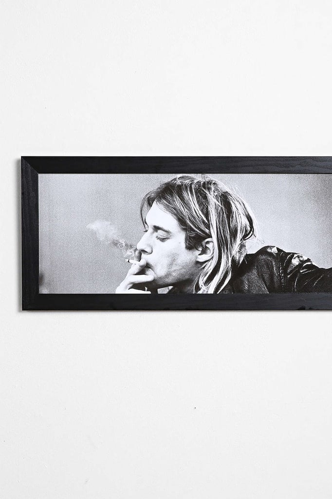 Kurt Cobain Wall Art ($69)