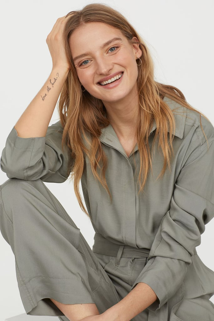 H&M Jumpsuit With Collar