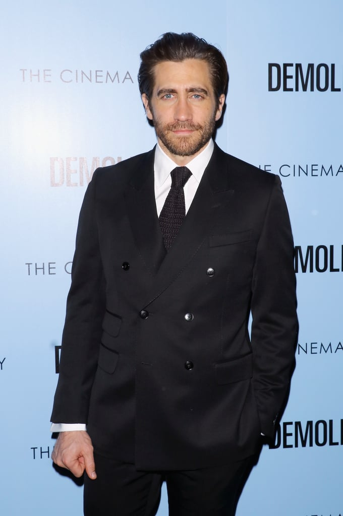 On Monday, Jake Gyllenhaal attended the NYC screening of his latest film, Demolition, looking handsome as always after returning from the South by Southwest Music, Film + Interactive Festival. The actor hit the red carpet solo and later met up with his costars Naomi Watts and Judah Lewis, and writer Bryan Sipe. In the drama, which hits theaters April 8, Jake plays an investment banker who struggles with life after losing his wife in a car accident. On top of promoting the movie, Jake has also been busy with his upcoming project, Stronger. Just last week, the actor toured Spaulding Rehabilitation Hospital in Massachusetts to research his new role and even surprised a few patients while there. Keep reading to see more of Jake, and then check out his Hollywood evolution.