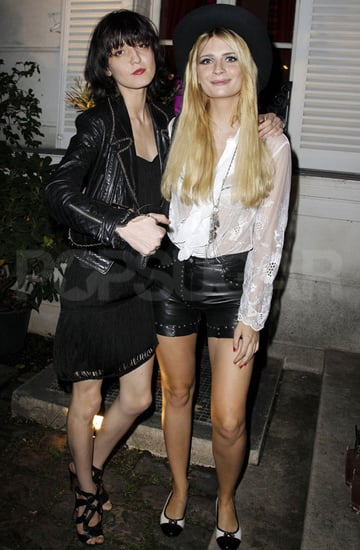 Pictures of Mischa Barton Partying in Paris With Friends