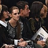 Kristen Stewart and Italian director Matteo Garrone