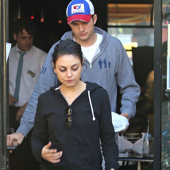 Ashton Kutcher and Mila Kunis Do Lunch in LA | Pictures