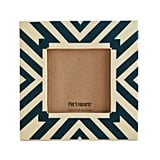 Blue Lines 4x4 Photo Frame