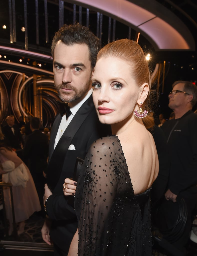 Pictured: Jessica Chastain and Gian Luca Passi de Preposulo